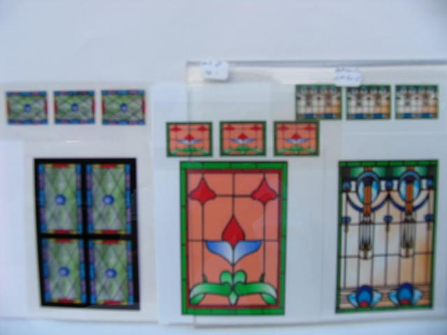 ramen/deuren/glas in lood - Avontuur In Miniatuur