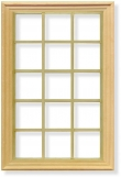 15 pane window frame