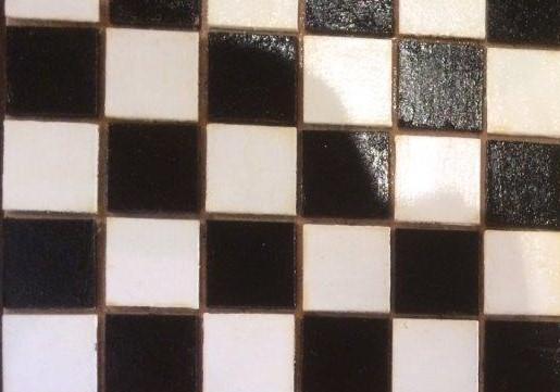 Zwart Witte Tegels : Tegels avontuur in miniatuur
